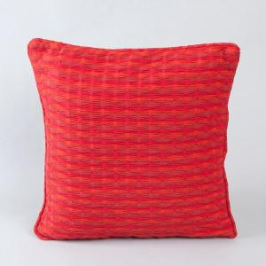 Cotton Woven Deepali Cushion Cover Red L