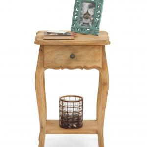 Dinan Side Table - Natural