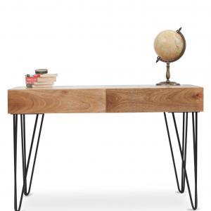 Oslo Study Table - Natural
