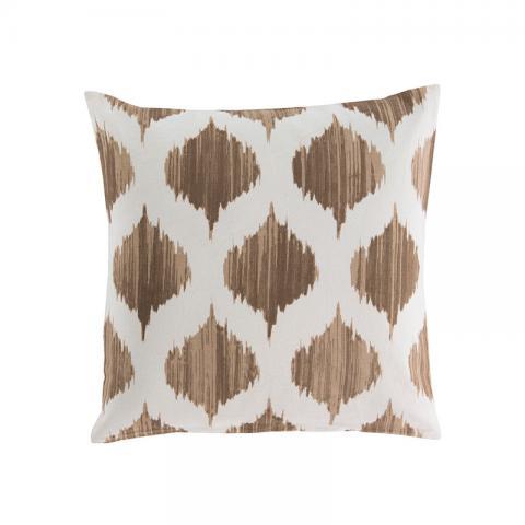 Brown Lantern Cushion Cover