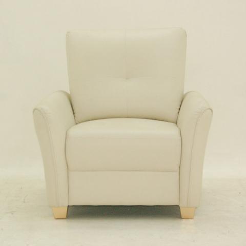 Sydney Sofa - One Seater Ivory