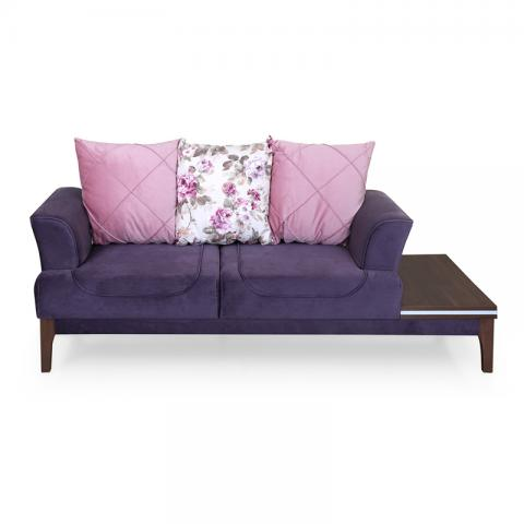 Romina Sofa - 2  Seater With Side Table