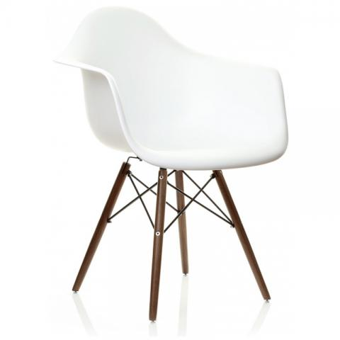 Buy Eames Daw Armchair Replica White Chairs By Discern Living