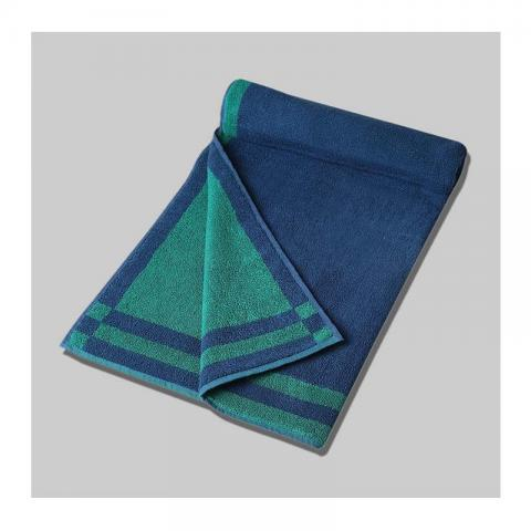 Peacock Cotton Pile Bath Towel Plain Reversible - 37X60