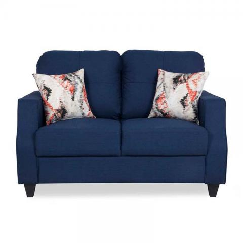 Albans Sofa - Two Seater Blue