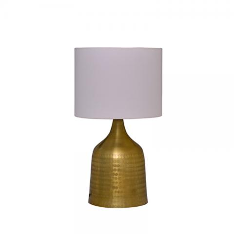 Cone Table Lamp - Brass