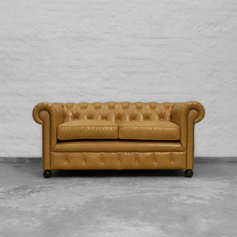 Chesterfield Leather Collection - Italian Tango Gold