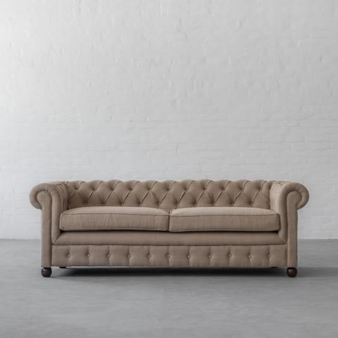 Chesterfield Sofa Collection - Sand