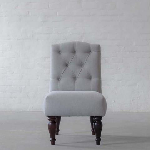 Verona Armchair collection 1 Seater-Gir Ash Cotton Linen Blend