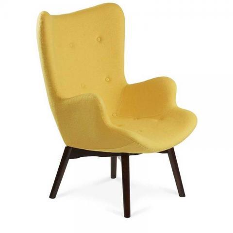 The Reggio Replica Wing Chair - Yellow
