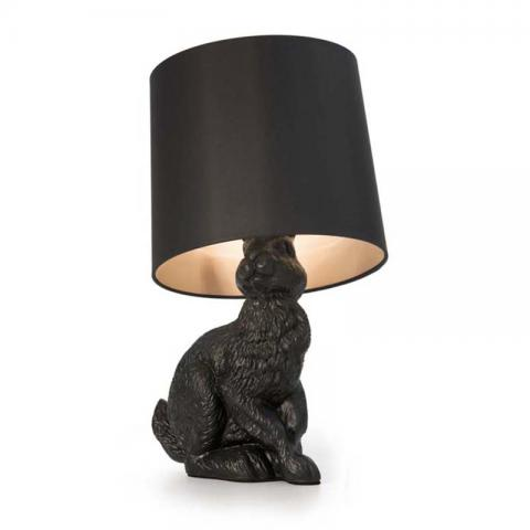 Black Rabbit Table Lamp