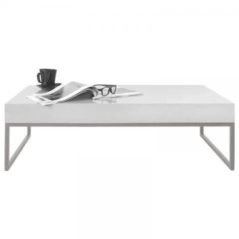 Svelte Coffee Table - White