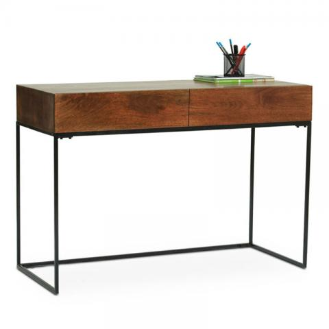 Verona Study Table - Walnut