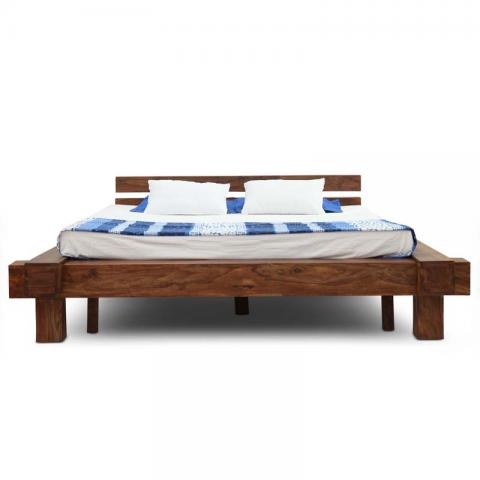 Algeria Bed Without Storage Walnut
