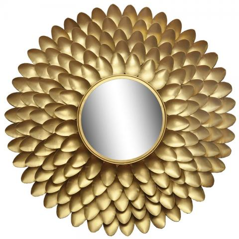 Stardust Gold Wall Mirror