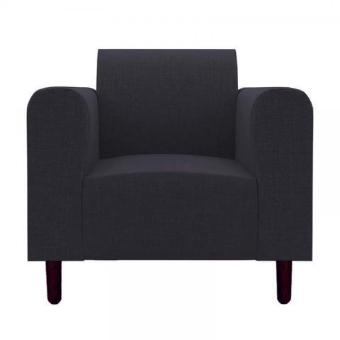 Magnolia - Blue One Seater Sofa