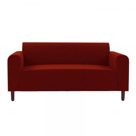Magnolia - Red Two Seater Sofa