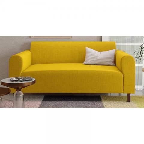 Magnolia - Yellow Two Seater Sofa