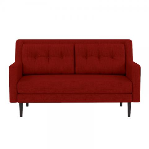 Heather - Red Two Seater Sofa
