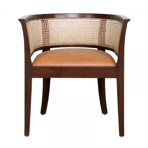 Agartha Accent Chair - Tan