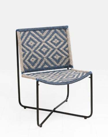 Metal Rope Woven Pipil Chair