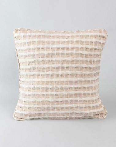 Cotton Woven Deepali Cushion Cover Natural S