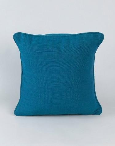 Green Cotton Woven Dhc Cushion Cover