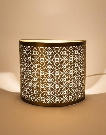 Metal Kollidam Perforated Wall Lamp