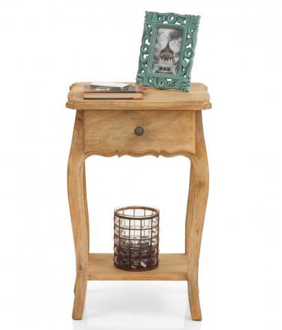 Dinan Side Table - Natural
