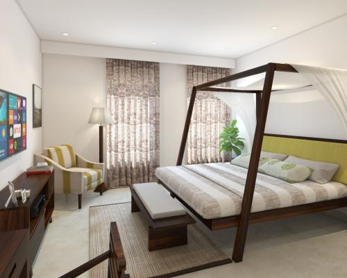 Classic Colonial Bedroom
