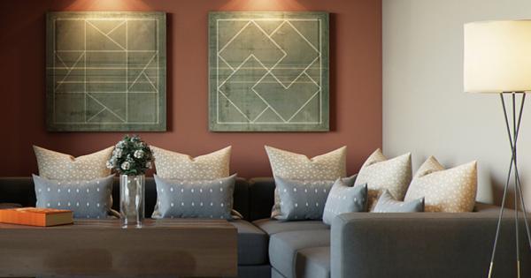 Modern Middle Eastern Living Room | Discern Living