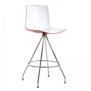 loreal-stool-red-color - bar-furniture