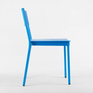 latt-chair-blue-color - outdoor-furniture