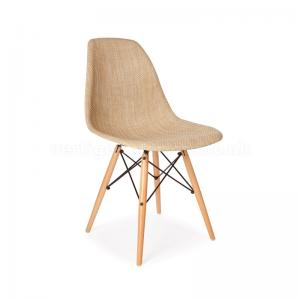 replica-eames-dsw-side-chair-beige-fabric - chairs