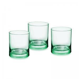 iride-water-light-green-tumbler-set-of-6-250-ml - barware