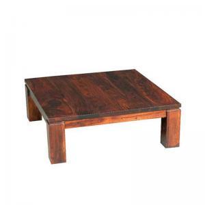 sheesham-wood-square-coffee-table - coffee-tables