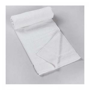 white-cotton-pile-plain-bath-towel - bath-towels