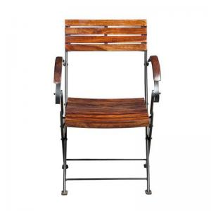 sheesham-wood-bistro-arm-chair - chairs