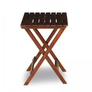 sheesham-wood-safari-foldable-table - benches-stools-and-ottomans