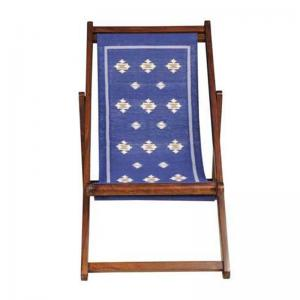 easy-chitki-blue-durrie-sheesham-chair - chairs