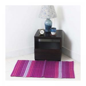 cotton-woven-dhurrie-fuschia-24x35 - rugs-and-carpets