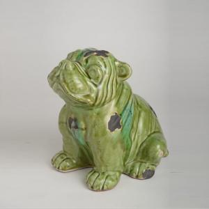 green-bull-dog - curios-and-home-accents
