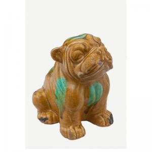 gold-bull-dog - curios-and-home-accents