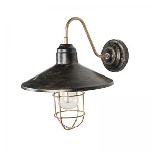 english-farmhouse-style-antique-gold-wall-sconce - wall-lights