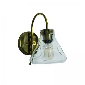 conical-flask-antique-wall-sconce - ceiling-and-hanging-lights