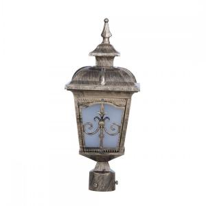 londonderry-antique-golden-small-outdoor-gate-post-light - outdoor-lighting