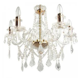 classic-bohemian-candelabra-crystal-chandelier - fos-lighting