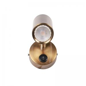 antique-brass-bedside-cylindrical-spot-led-wall-lamp - outdoor-lighting