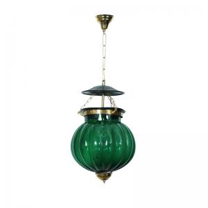 goan-melon-handi-lantern-hanging-light-green - lanterns
