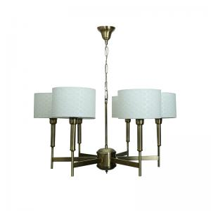 contemporary-burnished-brass-6-light-french-chandelier - fos-lighting